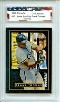 1993 Pinnacle #17 Frank Thomas Home Run Club AGC 10 Gem Mint Chicago White Sox
