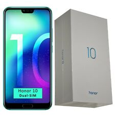 New Honor 10 Dual-SIM COL-L29 64GB Phantom Green Factory Unlocked 4G SIM-Free