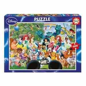 The Marvelous World Of Disney ~ 1000 Piece Educa Jigsaw Puzzle