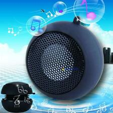 Black Mini Portable Hamburger Speaker For iPod iPhone Tablet Laptop PC MP3 MT