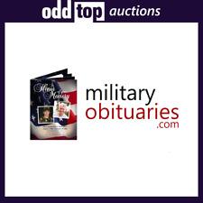 MilitaryObituaries.com - Premium Domain Name For Sale, Dynadot