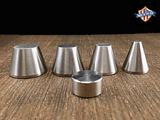"Coin Ring Folding Cone Set (1/4"",1/2"",5/8"",3/4"" and Spacer) FREE SHIPPING!"