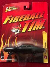 1971 plymouth GTX 71 JOHNNY LIGHTNING 1977 CAR 1/64 14 BLACK fireball Tim