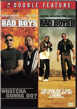 BAD BOYS / BAD BOYS II - 2 FILM 2 DVD SET - WILL SMITH - SHIPS NEXT DAY FAST