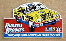Russell Brookes / Andrews Opel Manta 400 Rally / Motorsport Sticker Decal