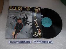 LP Hiphop Ellis D - Free Your Mind (10 Song) CRIMINAL RECORDS