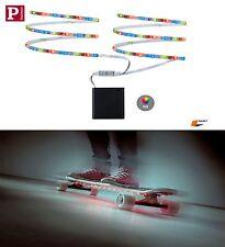PAULMANN LED MOBIL RGB STRIPE 2x80cm 2 x 1,2Watt BATTERIE BETRIEBEN QUALITÄT