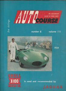 ORIGINAL AUTOCOURSE MAGAZINE VOLUME 3 III NO 6 1954 FORMULA 1