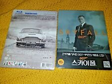 007 SKYFALL Blu-Ray Korea Exclusive Limited Edition Steelbook Brand New & Sealed