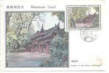 China 1981 Maximun Card
