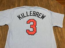 Harmon Killebrew Minnesota Twins MLB Majestic Powder Blue Medium T Shirt