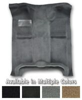 Quad Cab 4 Door Crew Cab Complete Cutpile Replacement Carpet - Choose Color