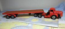 Code 3 Corgi/Solido Berliet TBO with flat trailer