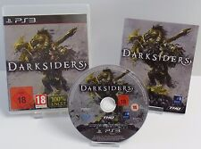 PS3 Playstation 3 - The Cursed Crusade + Darksiders + Anleitung + OVP