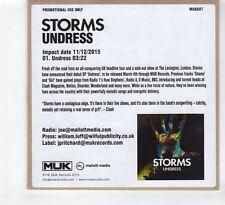 (HD738) Storms, Undress - 2015 DJ CD