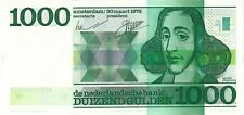 Netherlands 1000 gulden 1972 UNC Spinoza