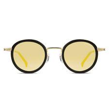 KOMONO Clovis Unisex Sonnenbrille Black/Gold KOM-S3650