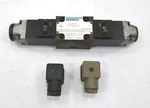 Rexroth Mannesmann 4WE 6 D53/OFAW220-60NZ4/T06 Solenoid Directional Valve DC/AC$