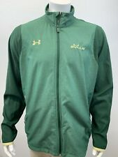 Under Armour University of South Florida USF Bulls Full Zip Green Jacket Size XL