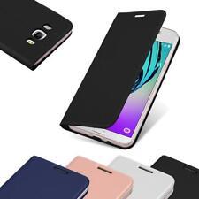 Handy Hülle für Samsung Galaxy J7 2016 Cover Case Tasche Etui Matt Metallic