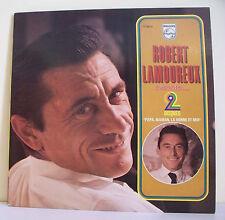 2 x 33T Robert LAMOUREUX Disques LP RACONTE PAPA MAMAN LA BONNE -PHILIPS 6680254