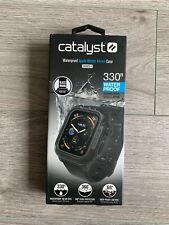Catalyst Waterproof Apple Watch 44m Case for Series 5, Series 4   BLACK / BLACK