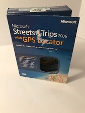Microsoft Streets & Trips 2006 with GPS Locator for Laptop Computer