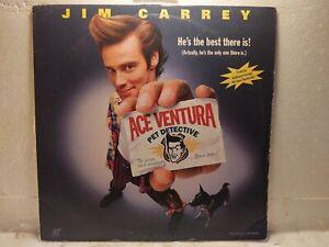 "Ace Ventura Pet Detective Widescreen Edition 12"" Laserdisc Movie lp5328"
