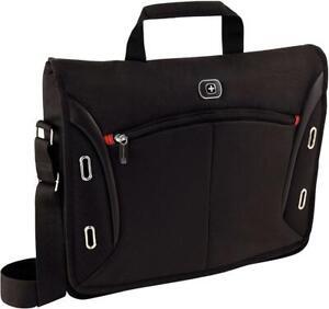 "Wenger 15"" MacBook Pro Messenger Bag Padded for Laptop iPad/Tablet {8 Litres}"
