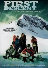 First Descent (DVD, 2006) Nick Perata, Shawn Farmer, Hannah Teter, Shaun White