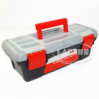 "10"" 250mm Plastic Tool Box Student Handyman Art Craft Storage Garage Case New AU"