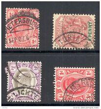 TRANSVAAL, postmarks Pietersburg, Pretoria, Lichtenburg, Pilgrim's Rest (D)