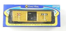 ExactRail HO #EE-1401-10 TTX FBOX Trinity 6275 cu ft PLUG DOOR BOX CAR  NIB T108