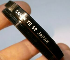 Canon TR 52 52mm to 52mm Ring for lens male to female threads