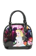 Disney Alice In Wonderland Flowers Patent Dome Bag Limited Edition Of 1500