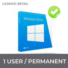 WINDOWS 10 PRO ORIGINAL LICENCE  32 / 64 BIT KEY WIN 10