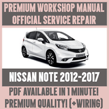 *WORKSHOP MANUAL SERVICE & REPAIR GUIDE for NISSAN NOTE 2012-2017 +WIRING