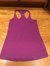 Lululemon Women's Purple Tank Top Racerback Lightweight Yoga Athleisure size 6