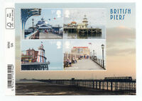 GB 2014 SEASIDE ARCHITECTURE Issue MINISHEET with 4 VALUES to £1.28 MNH.(GB075)