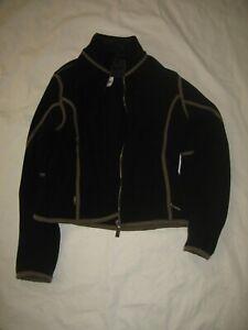 Spyder Damen Fleece Jacke Gr. 36 schwarz