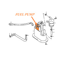 Pompa Carburante 96-00 Suzuki Gsx-R 750 Srad Benzina Della 15100-33E50