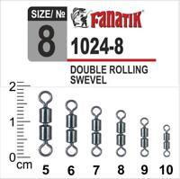 FANATIK Silikon Stopper Schnurstopper rutschfest Posenstopper aus Silikon Perlen Angeln Montagesystem