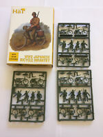 HaT 8278 WW2 JAPANESE BICYCLE INFANTRY x 12 1/72 Scale Plastic Toy Soldier Kit