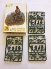 Hat 8278 WW2 japonais Bicycle infantry X 12 1/72 Scale Plastic toy soldier Kit