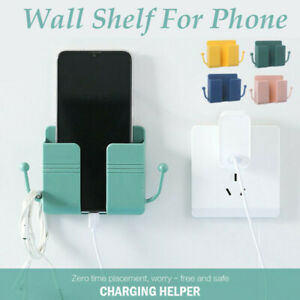 Universal Mobile Phone Adhesive Bracket Wall Mount Shelf  Charging Key Holder