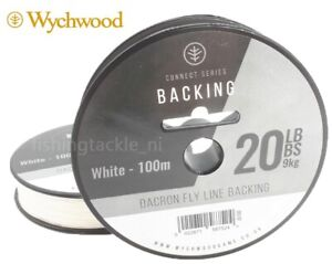 Wychwood Connect Series Dacron Fly Line Backing 20lb 100m White Fishing