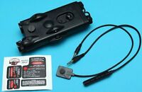G&P PEQ II Laser (Red Dot) & CREE LED Flashlight Black for Airsoft Toy (GP467A)
