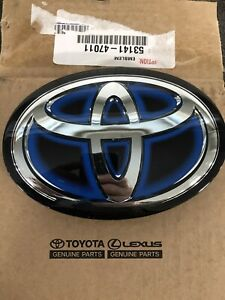 2015 Toyota Prius Front Emblem OEM Hybrid New