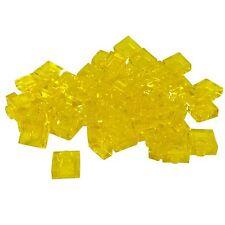 PLATE 1 x 2 L134 LEGO no. 3023 TRANS YELLOW  x 5