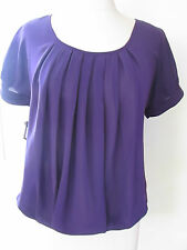 TOP CHEMISIER TUNIQUE VIOLET BRUCE FIELD TAILLE 1 38